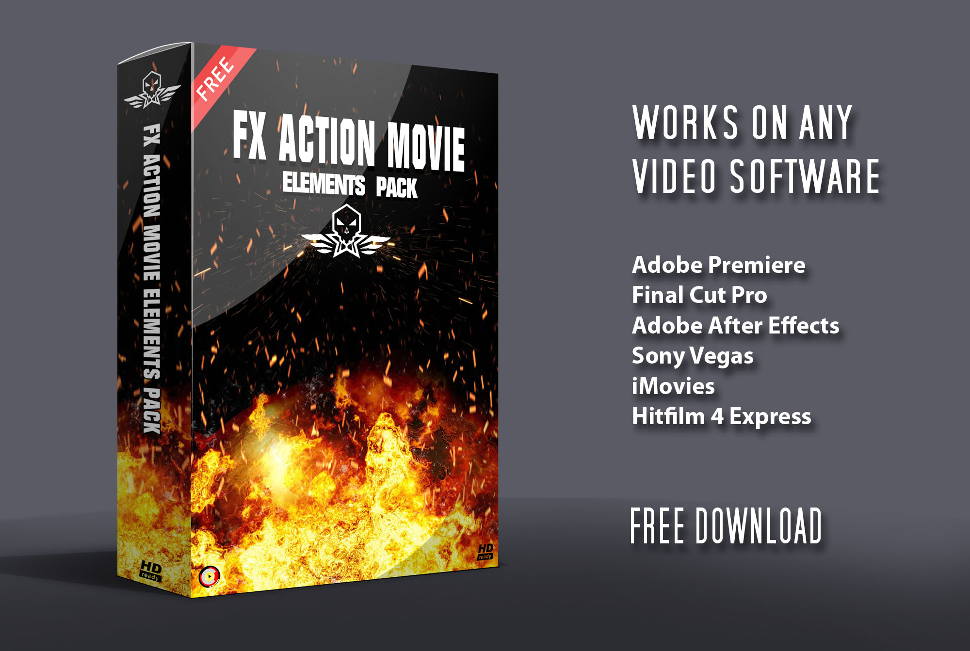 FX Action Movie Elements Pack